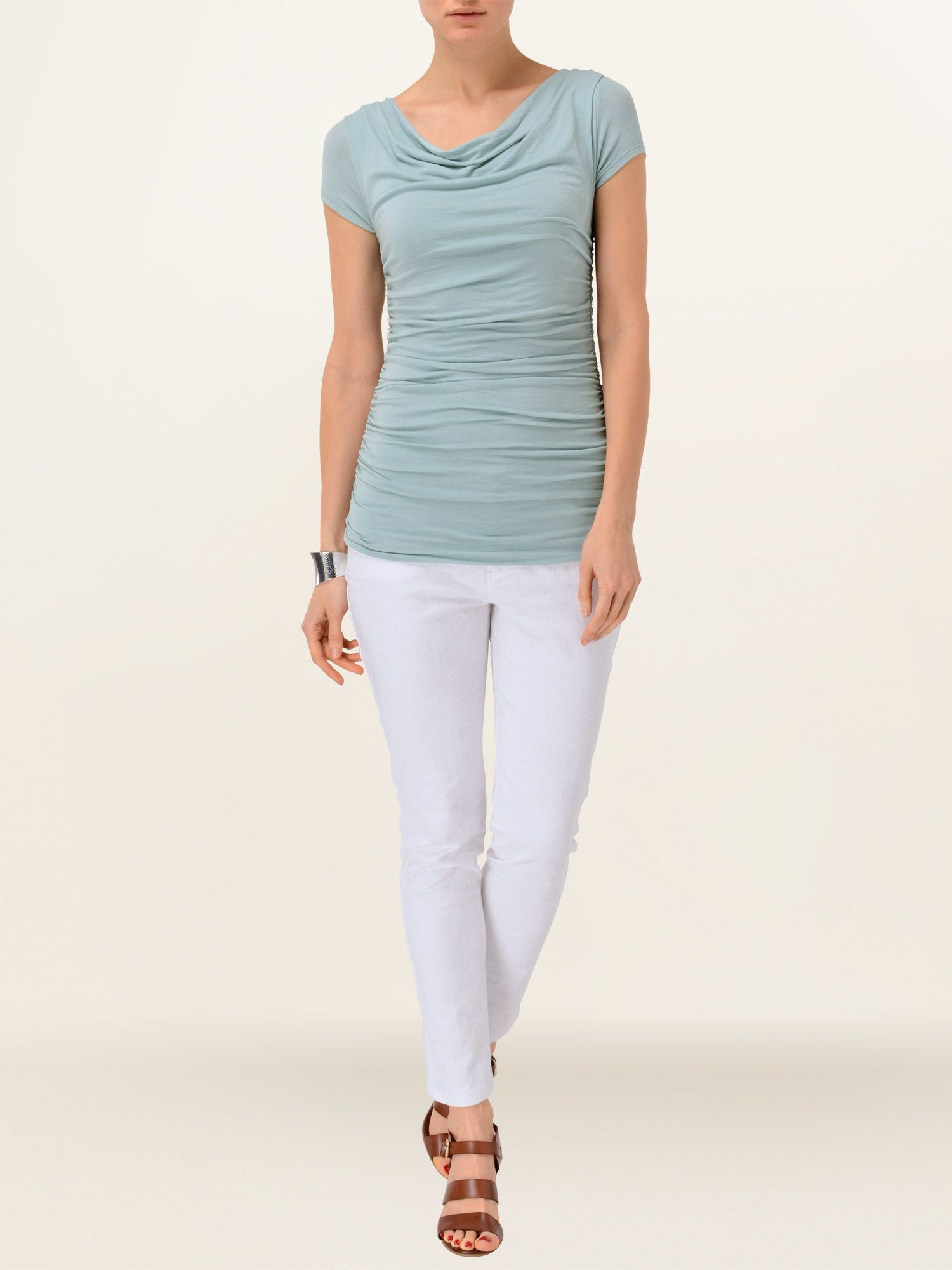 Tallie cap sleeve top