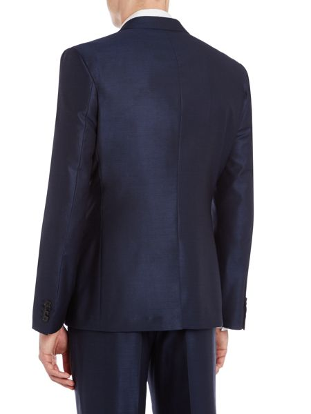 Kenneth Cole Pinsent wool/silk tonic jacket with jet pockets