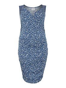 Juna Rose Sleeveless leo wrap dress