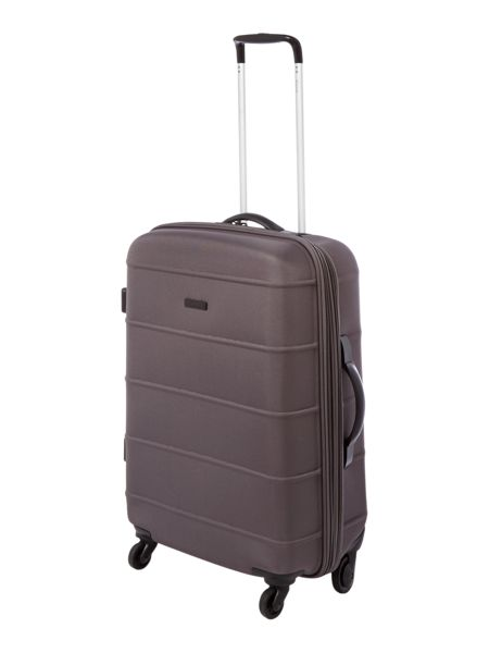 Linea Frameless pod grey 4 wheel soft medium suitcase