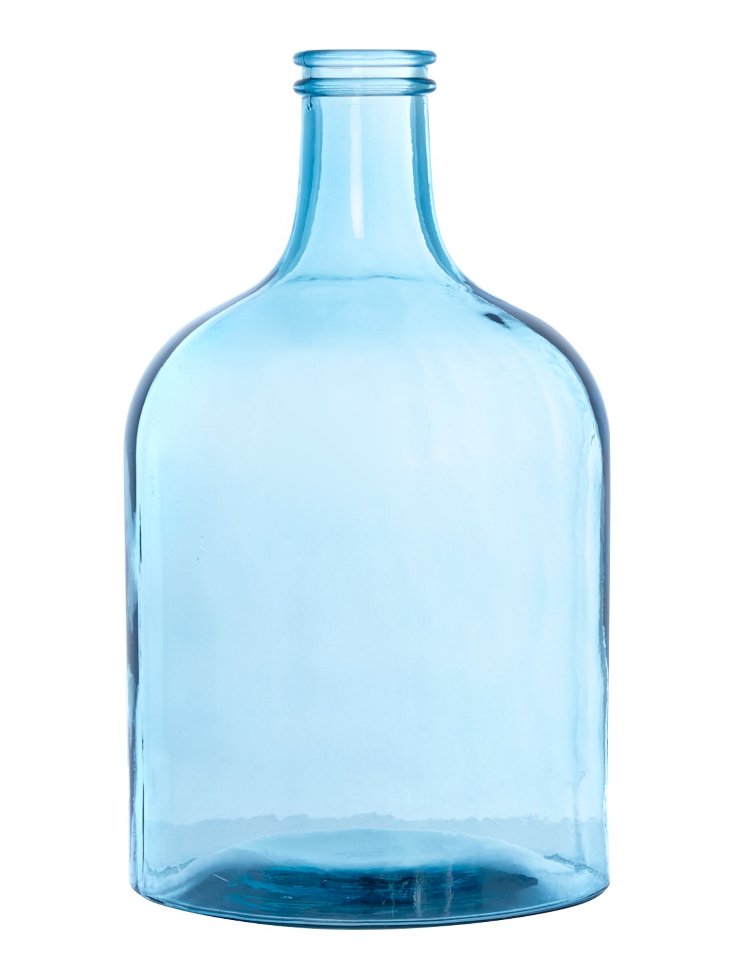Laica glass Bottle in forget me not