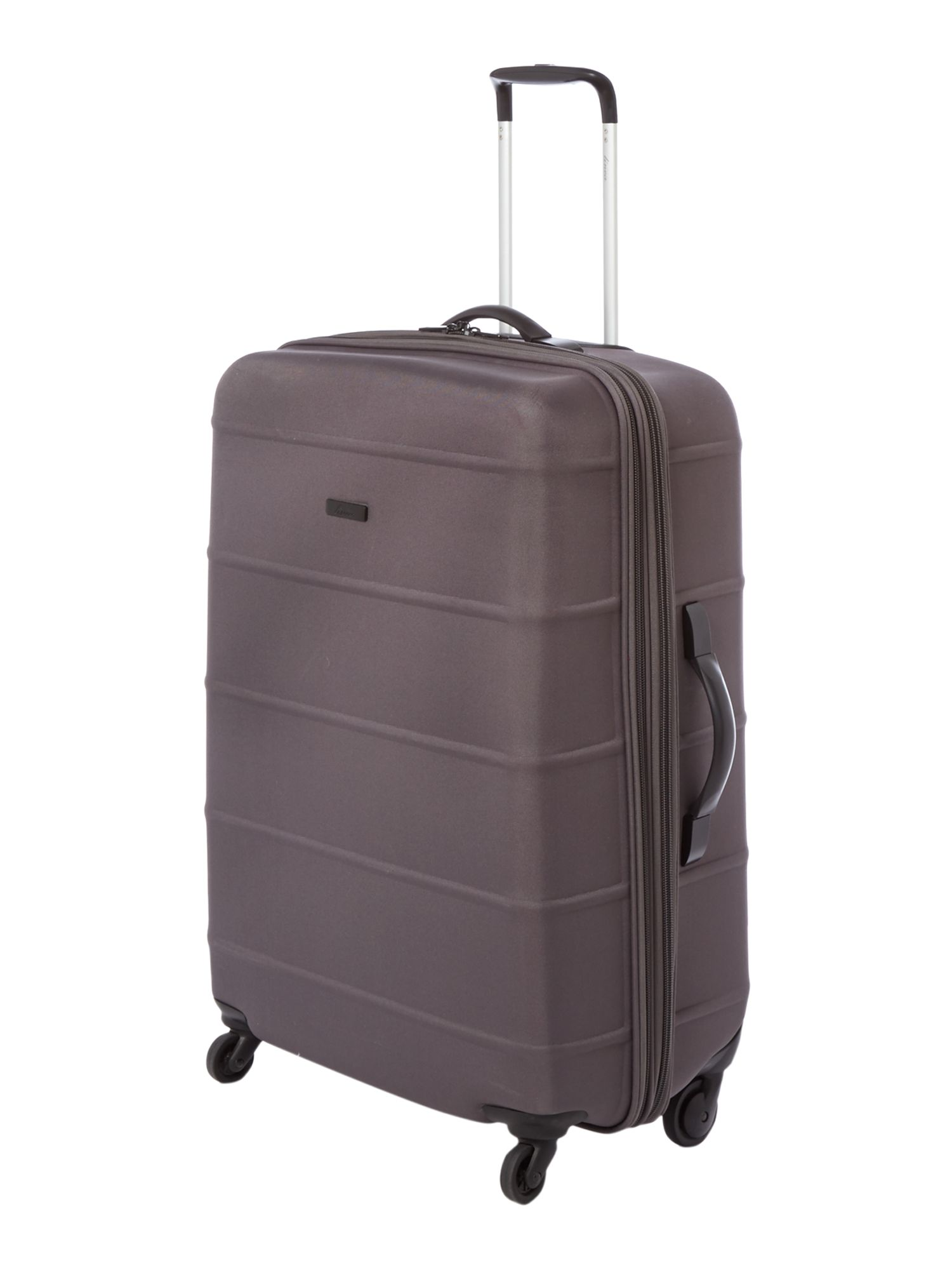 Frameless pod grey 4 wheel soft large suitcase