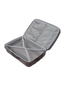 Linea Frameless pod grey 4 wheel soft large suitcase