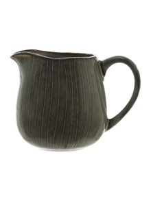 Nordic stoneware milk jug in grey tones