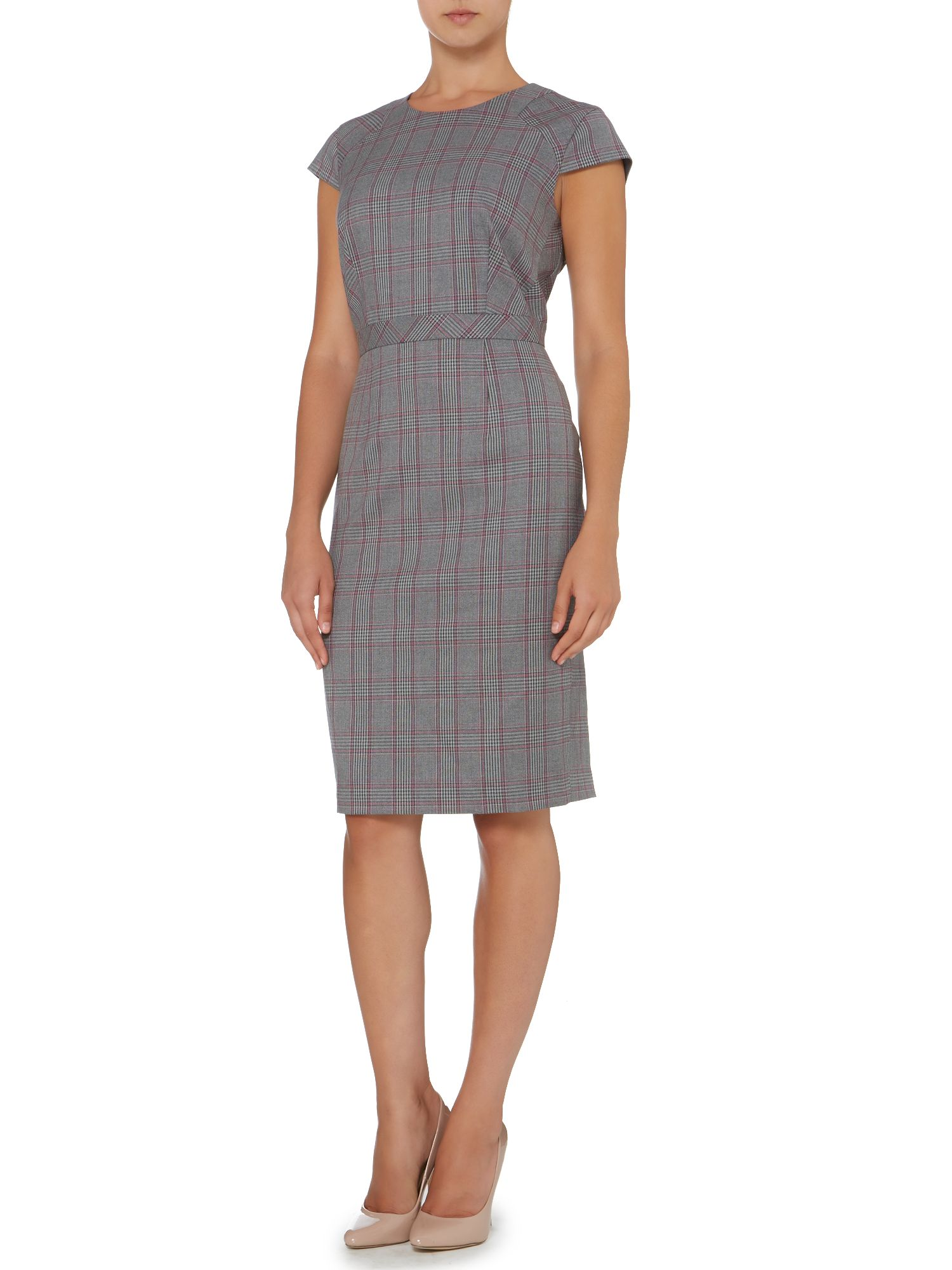 Prince of Wales check dress
