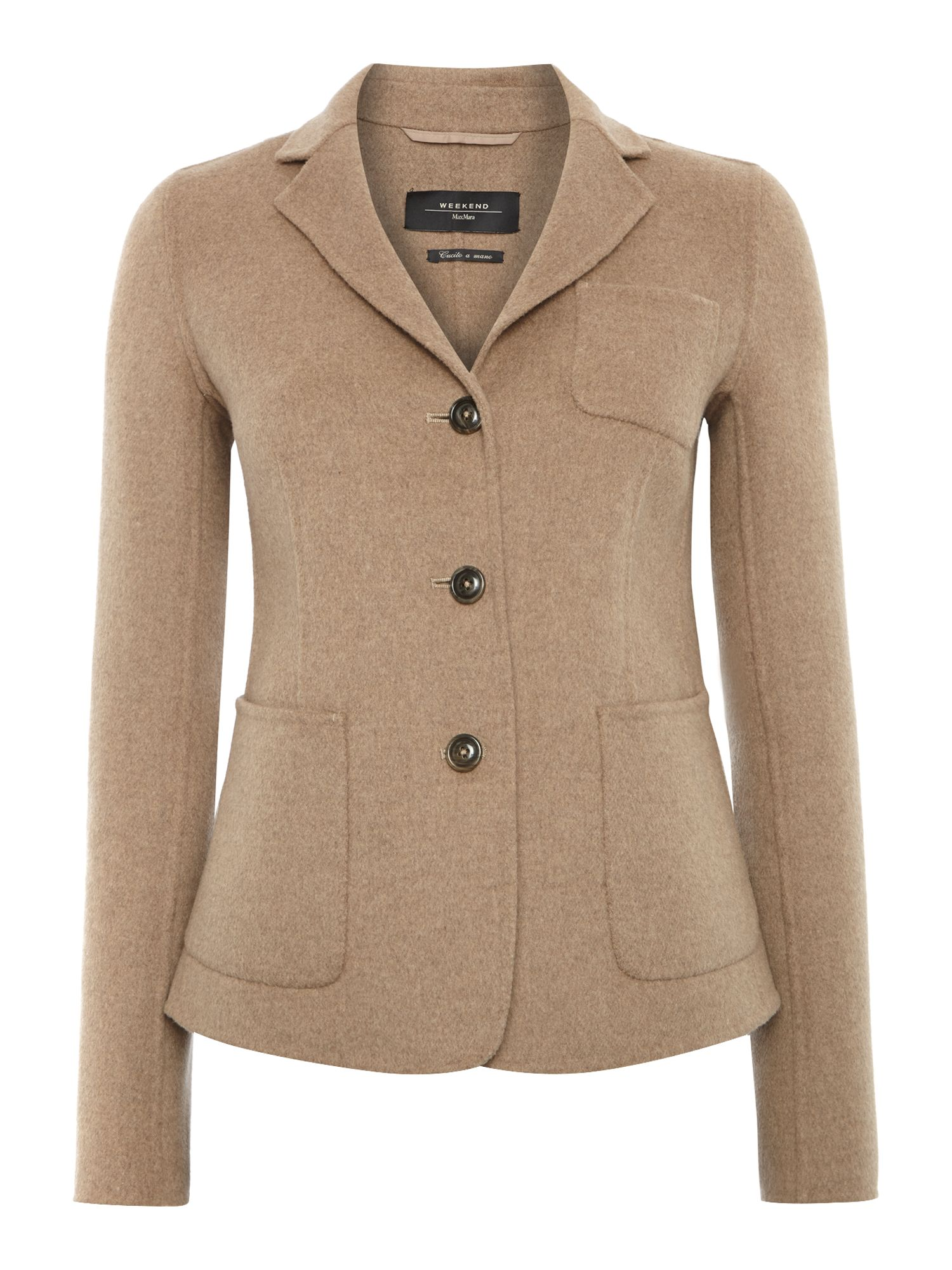 Alca double faced wool blazer