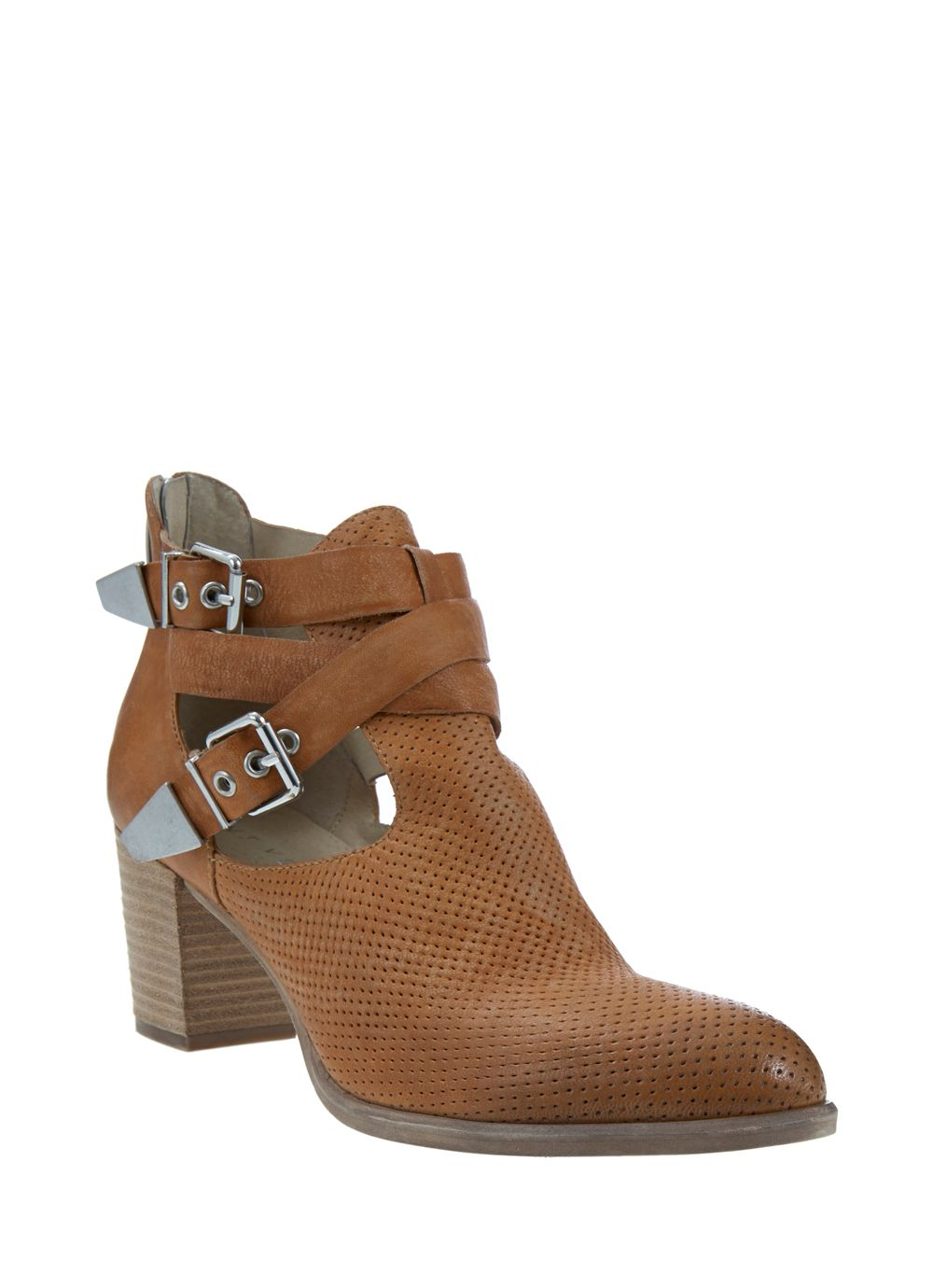 Tan jessica ankle boot