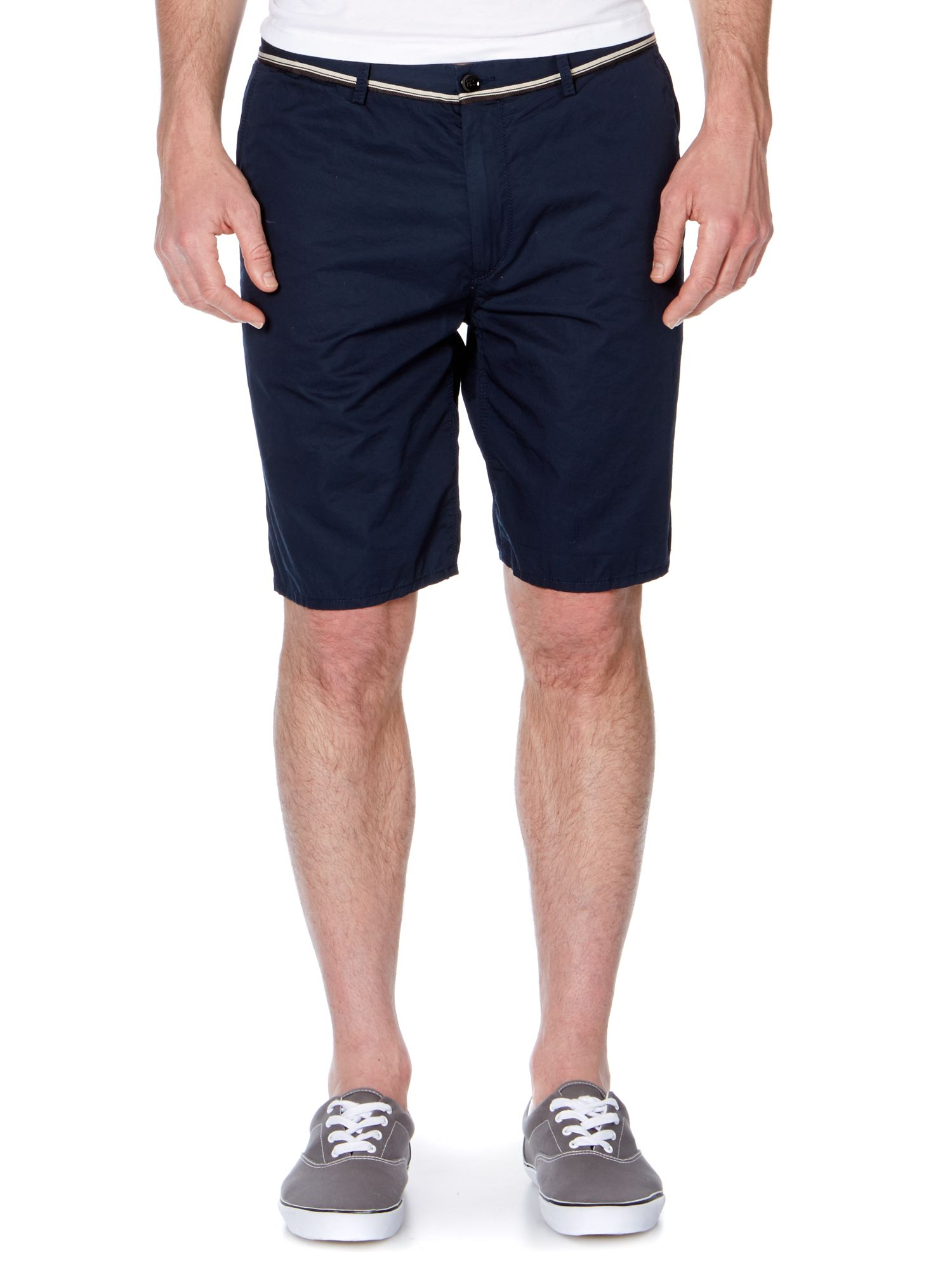Four pocket twill short