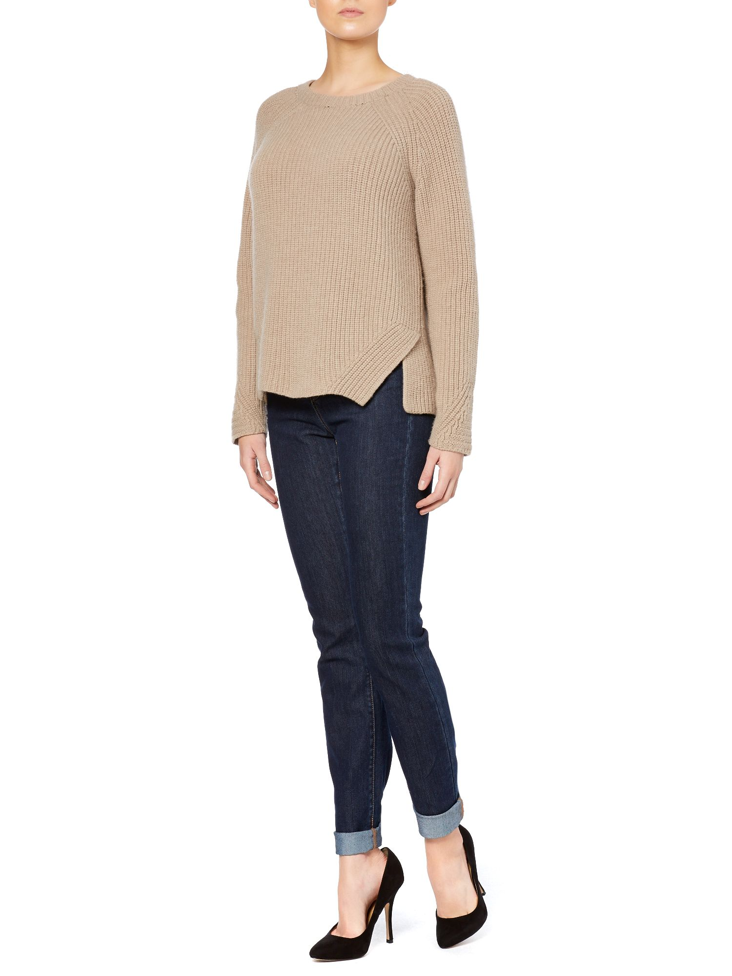 Sonale wool ribbed sweater