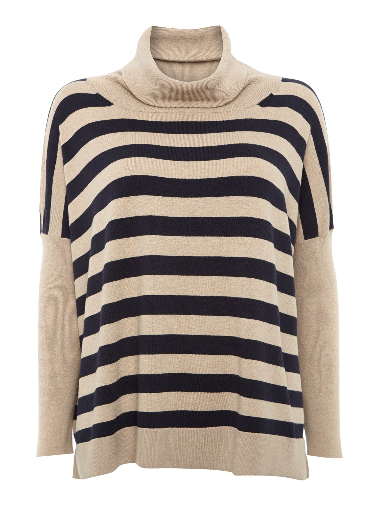 Padre striped roll neck jumper