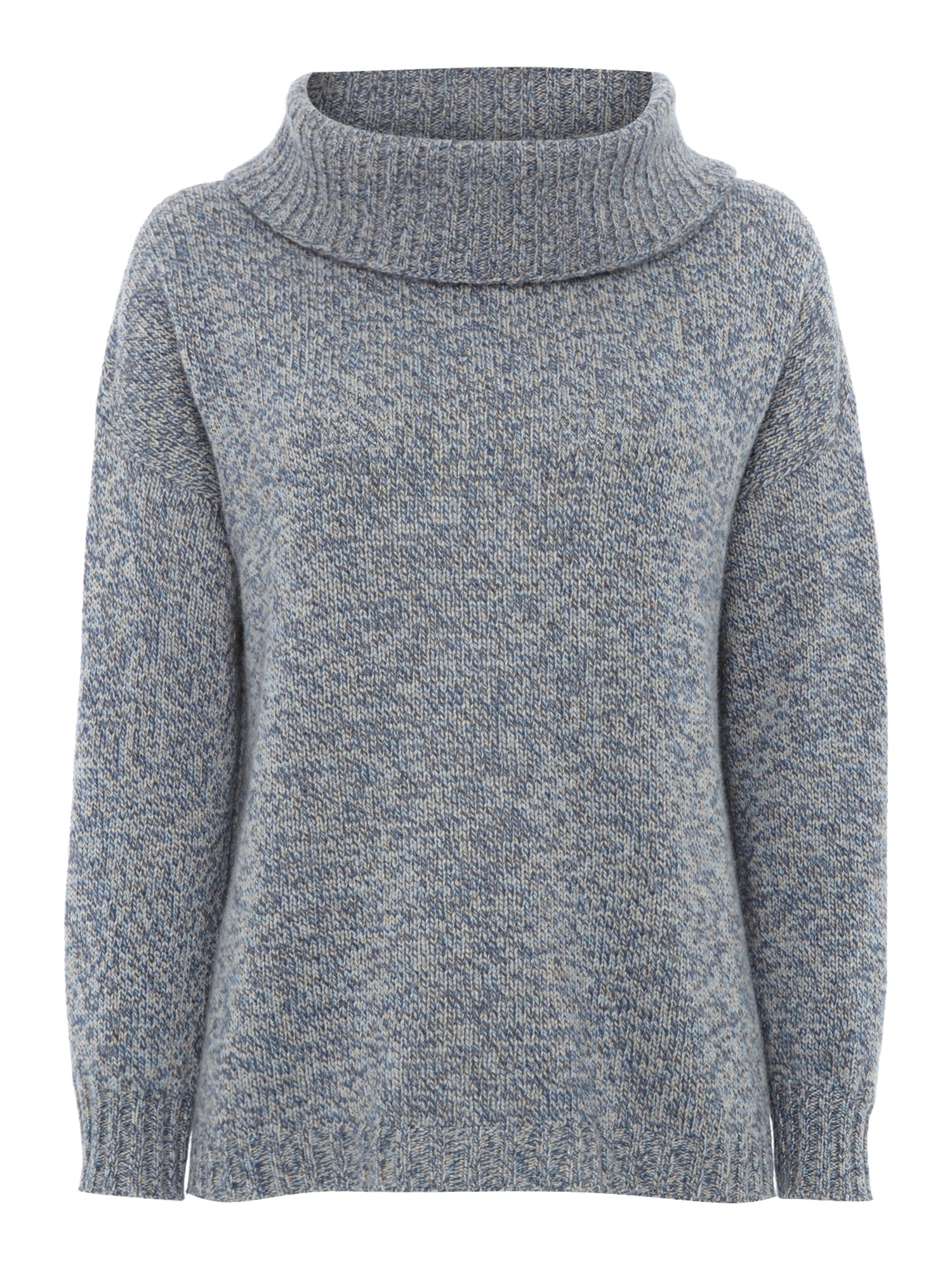 Dandy cashmere wool jumper with detachable collar