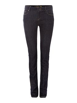 Wonder Push-Up slim jeans in rinse