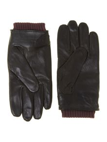 Nylon quilted glove