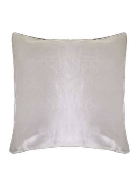 Pied a Terre Grey oversized silk cushion