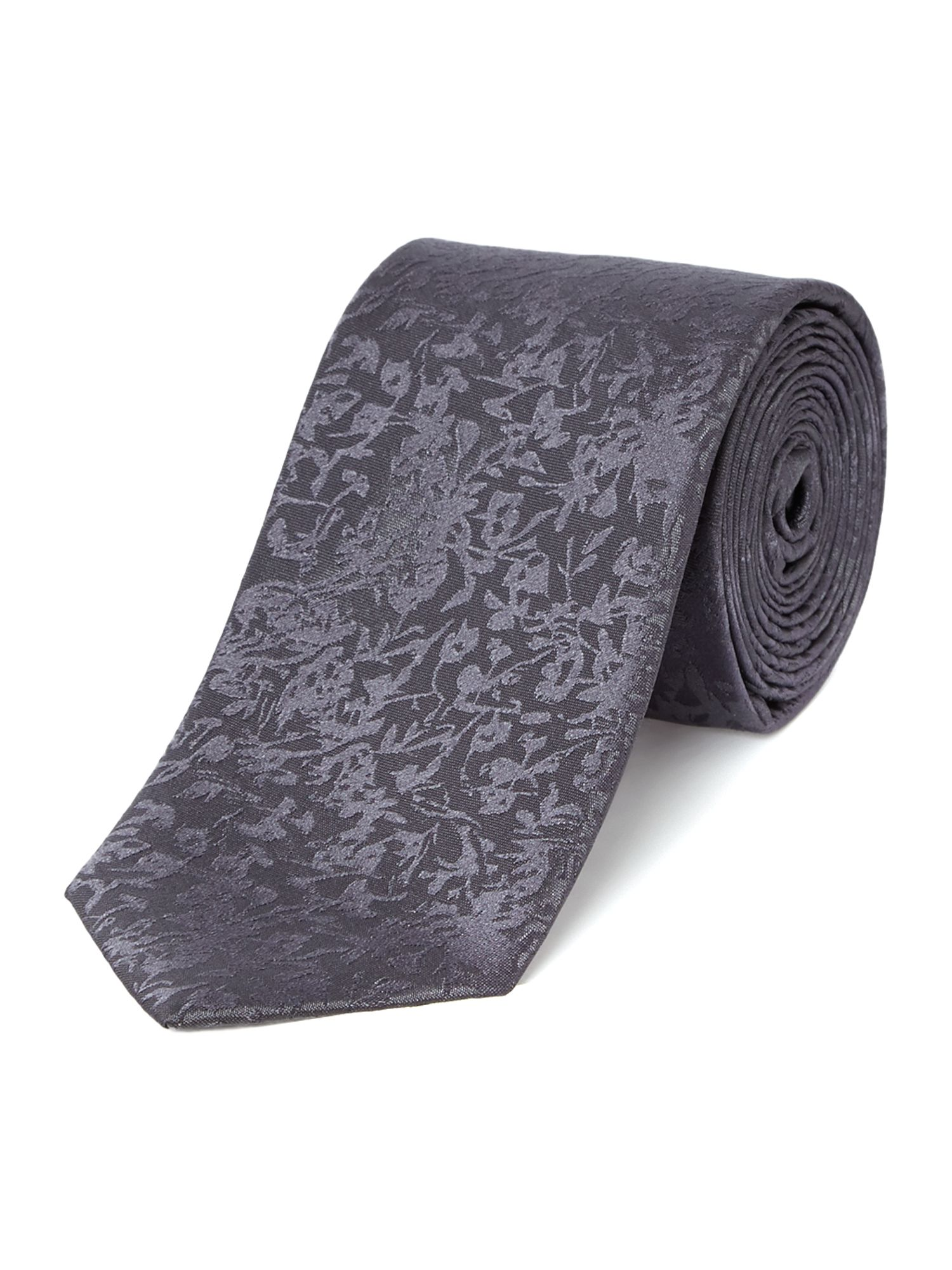 Applegate scribble geo silk tie