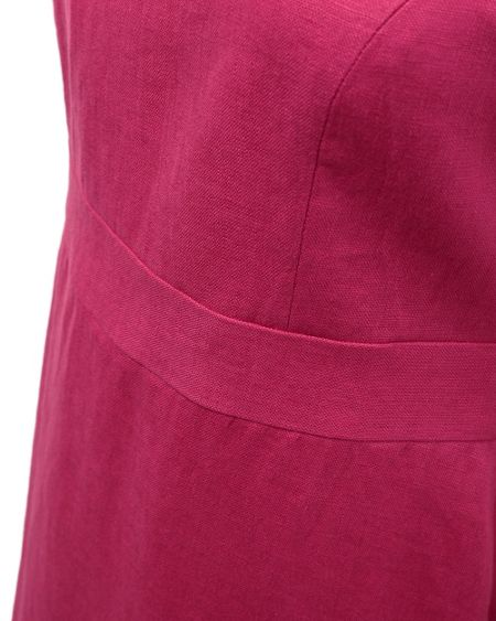 East Victoire band detail dress