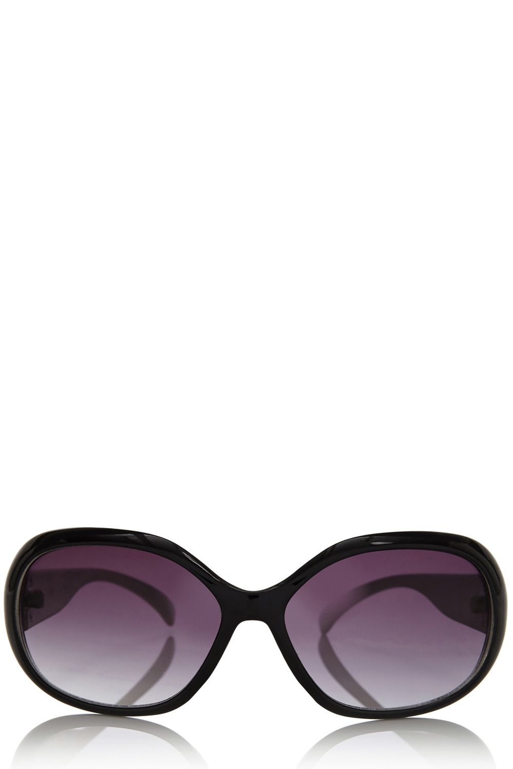 Quilted plastic arm sunglasses
