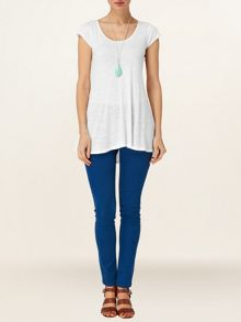 Slub tegan top