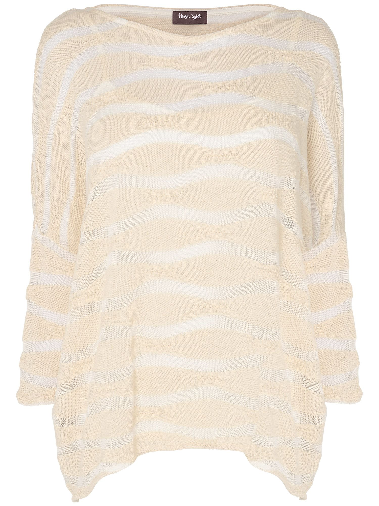 Dania textured stripe top