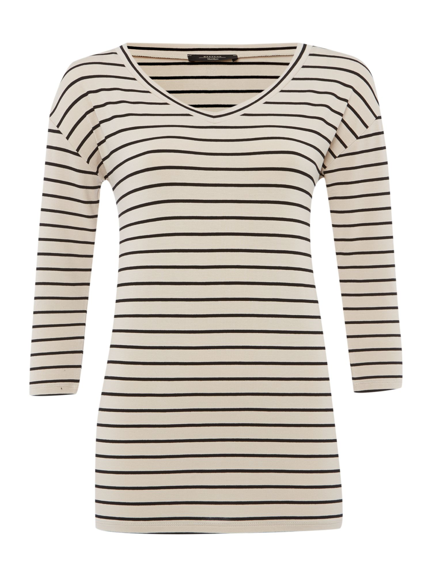 Kali 3/4 sleeved striped top