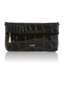 Ferrara foldover clutch bag