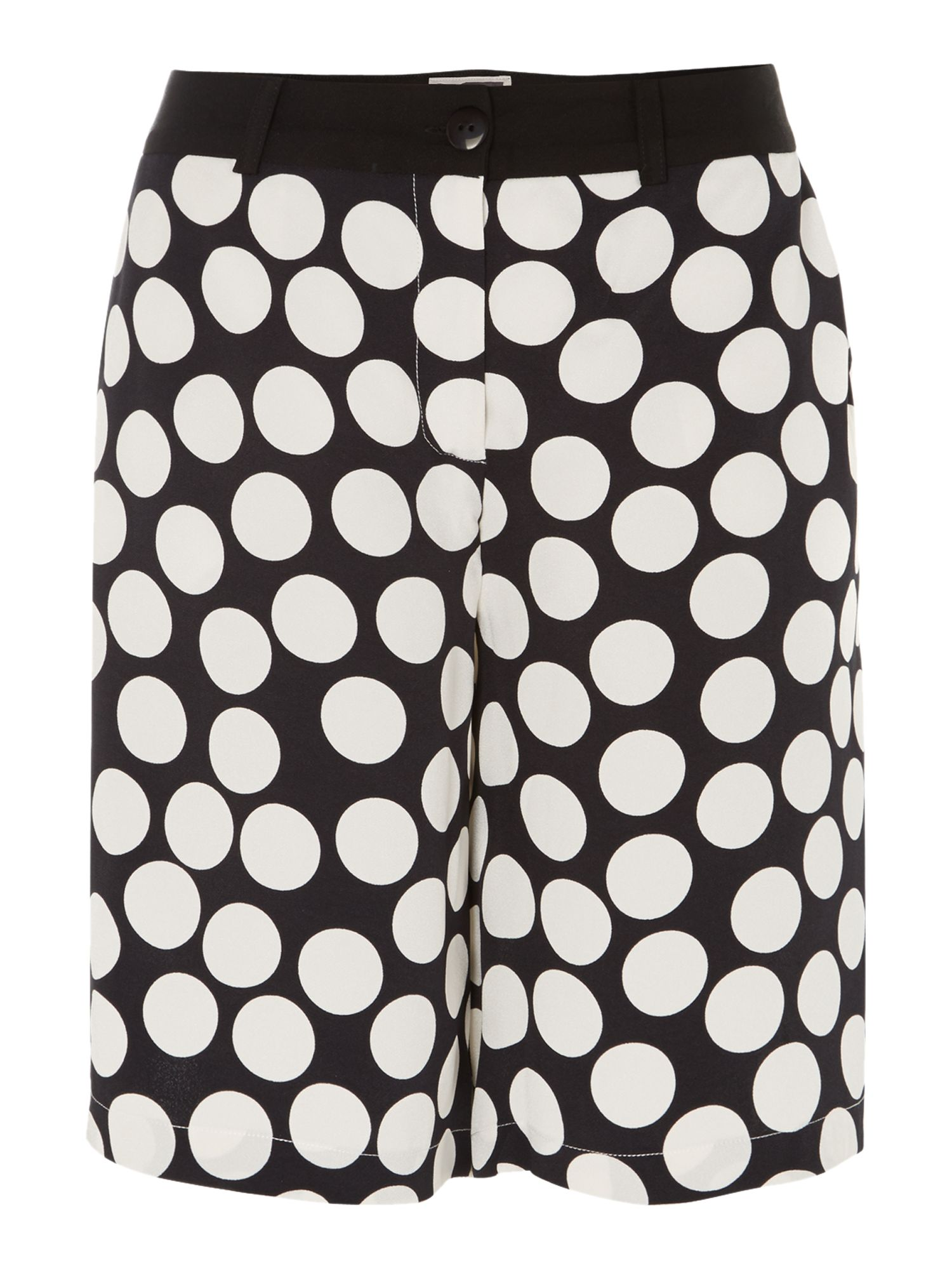 Oversized dot culottes