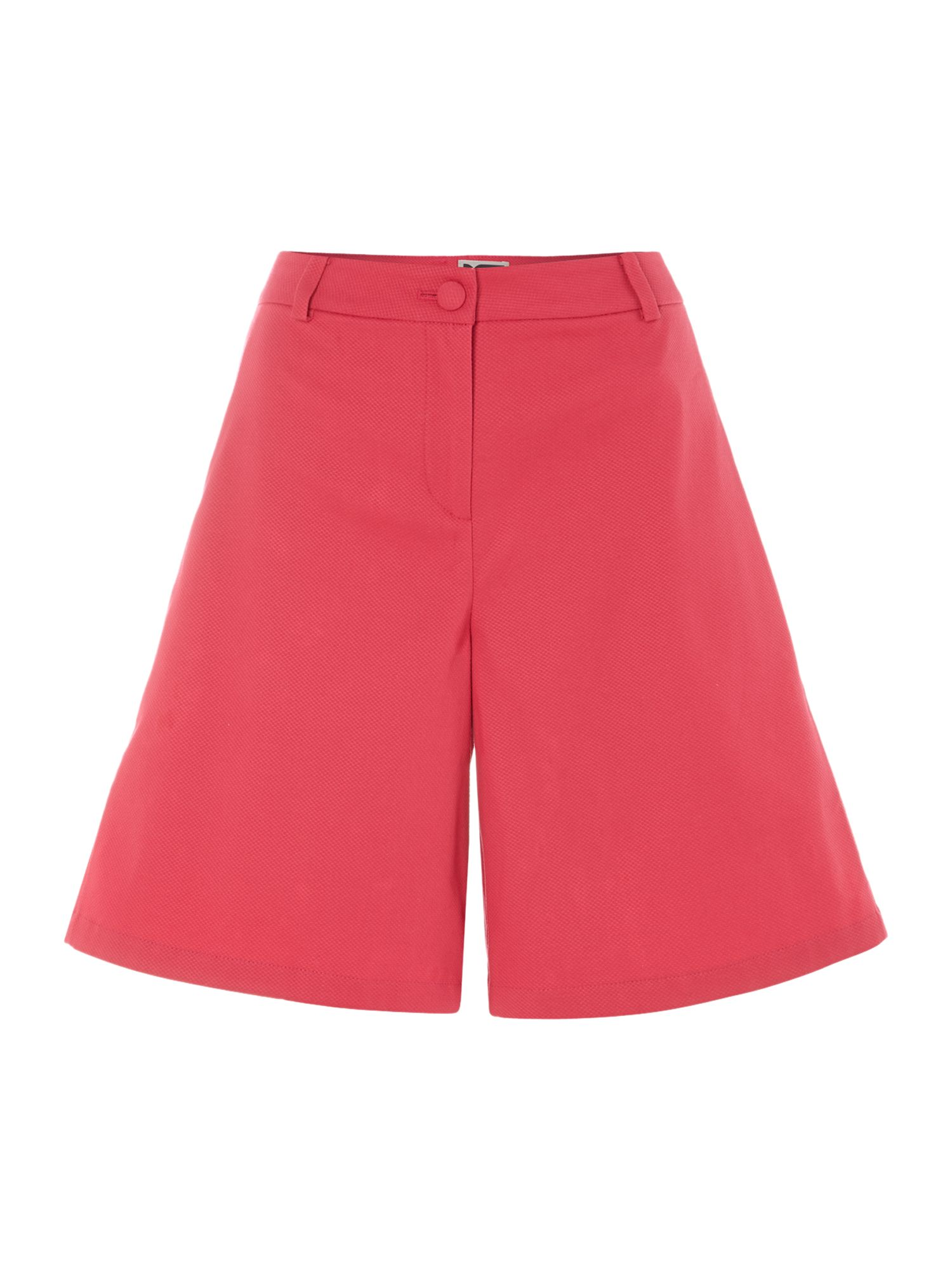 Pique tailored shorts