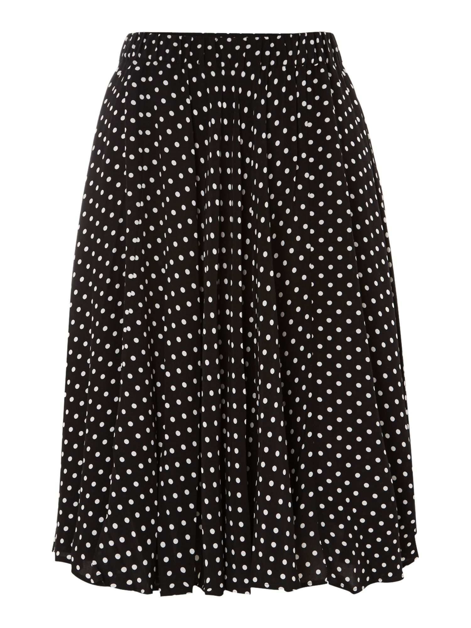 Polka dot full skirt