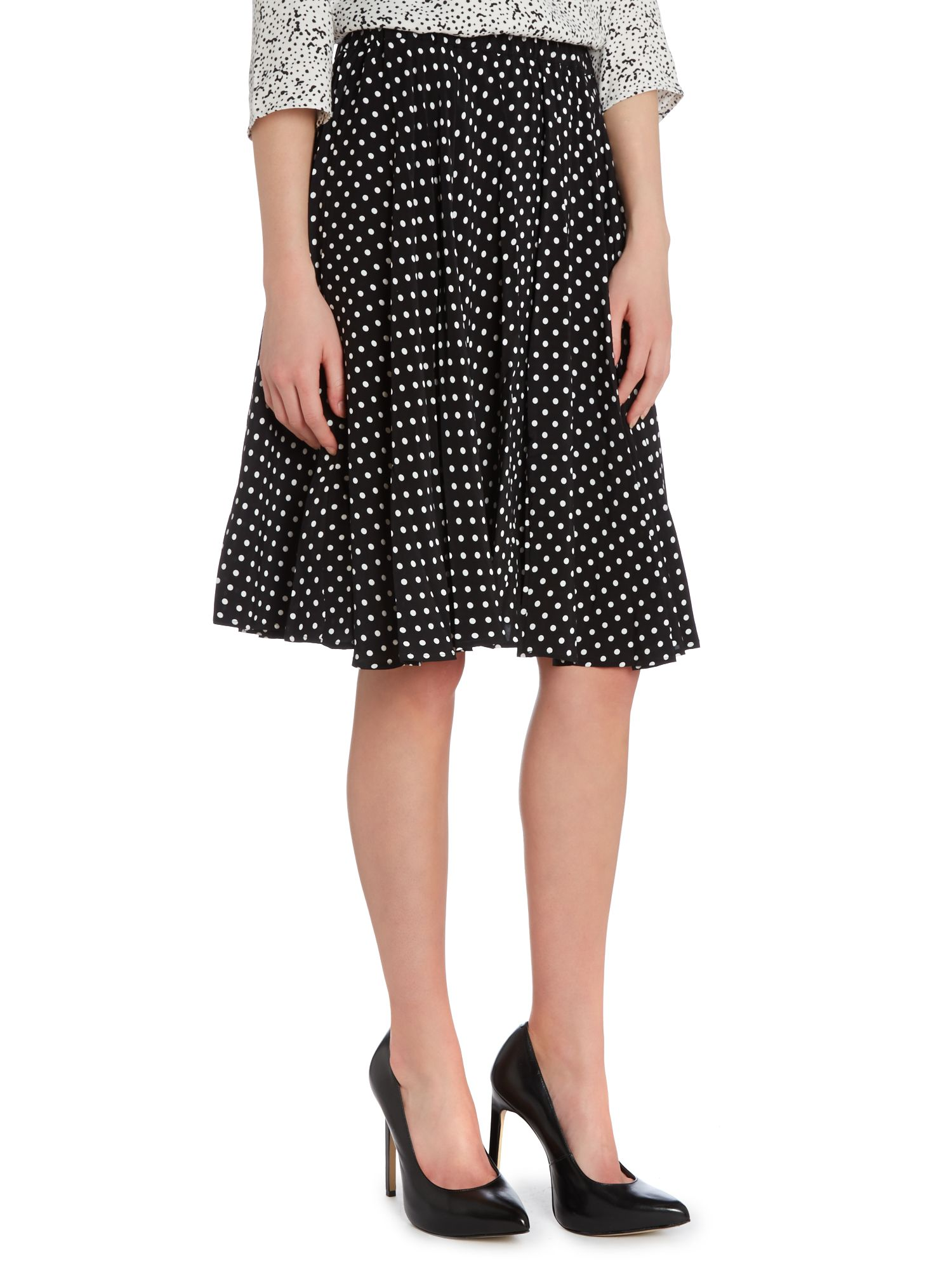 Polka dot full skirts