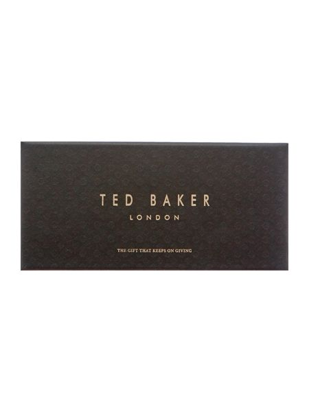 Ted Baker 3 pack stripe and spot sock in a box