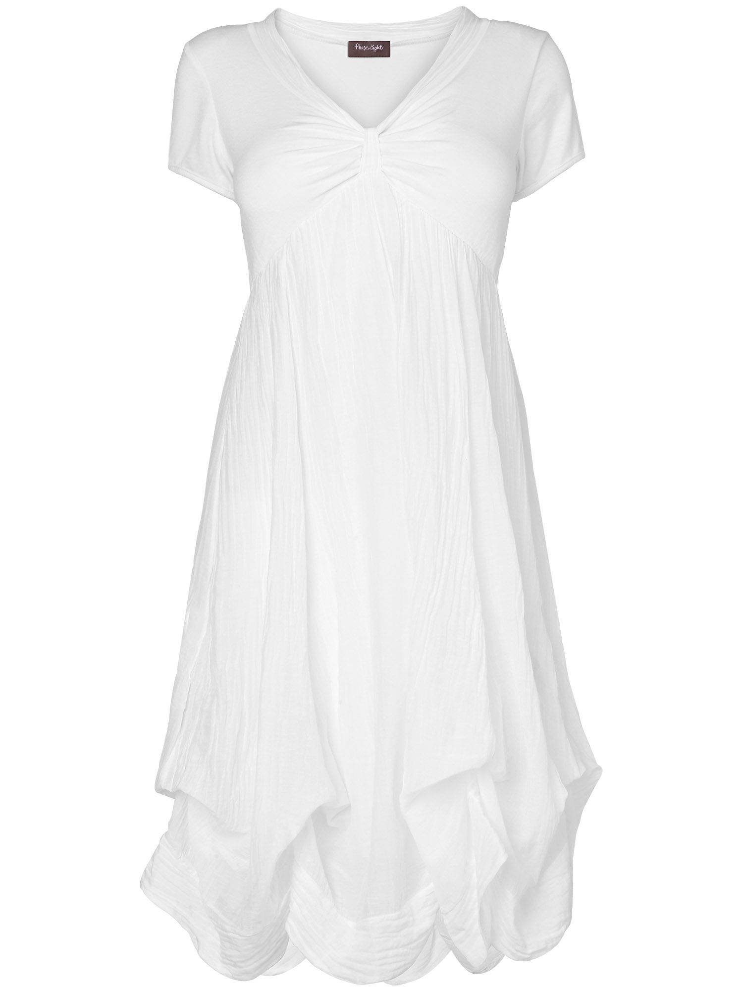 Ruthie short sleeve hook-up dress
