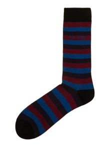 Herringbone stripe sock