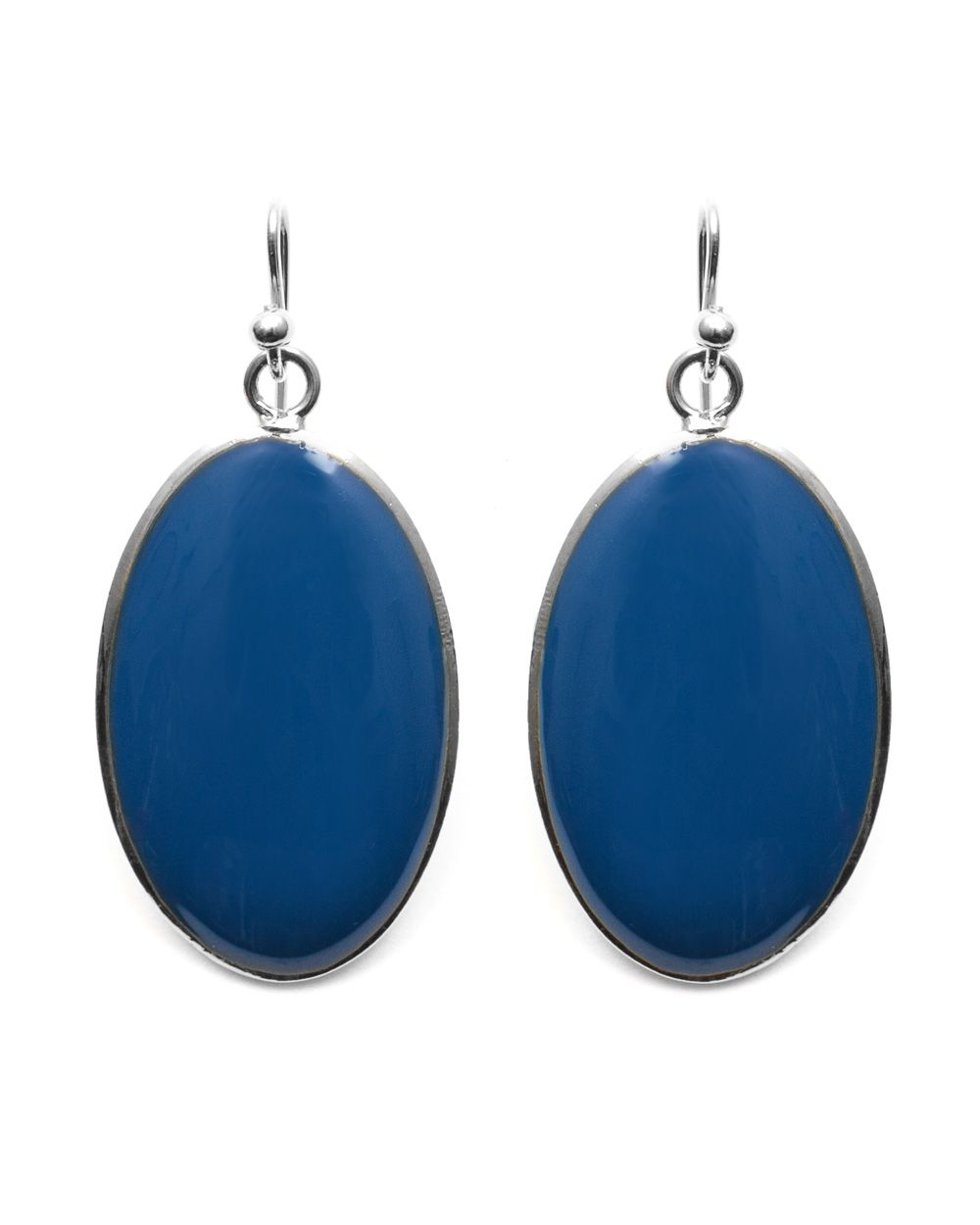 Azure drop earring
