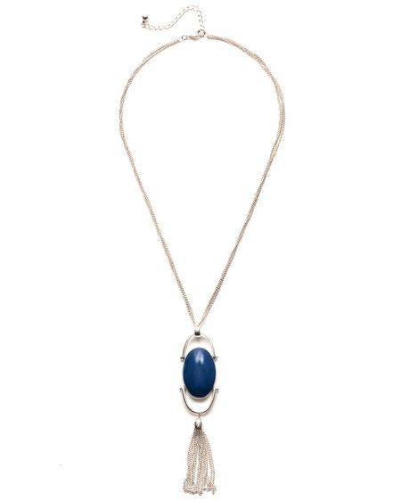 East Azure pendant necklace