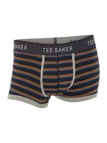 3 pack stripe plain and print underwear trunk