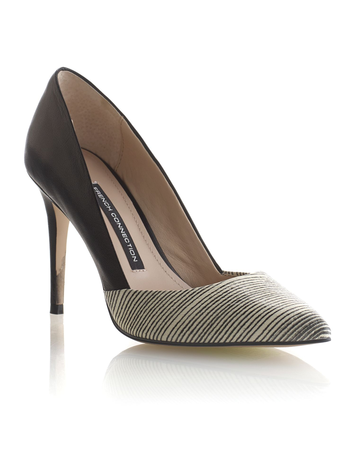 Elodie court shoes