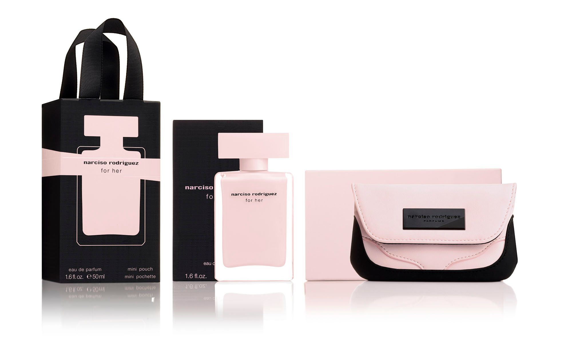 For Her Eau de Parfum 50ml and Mini Pouch