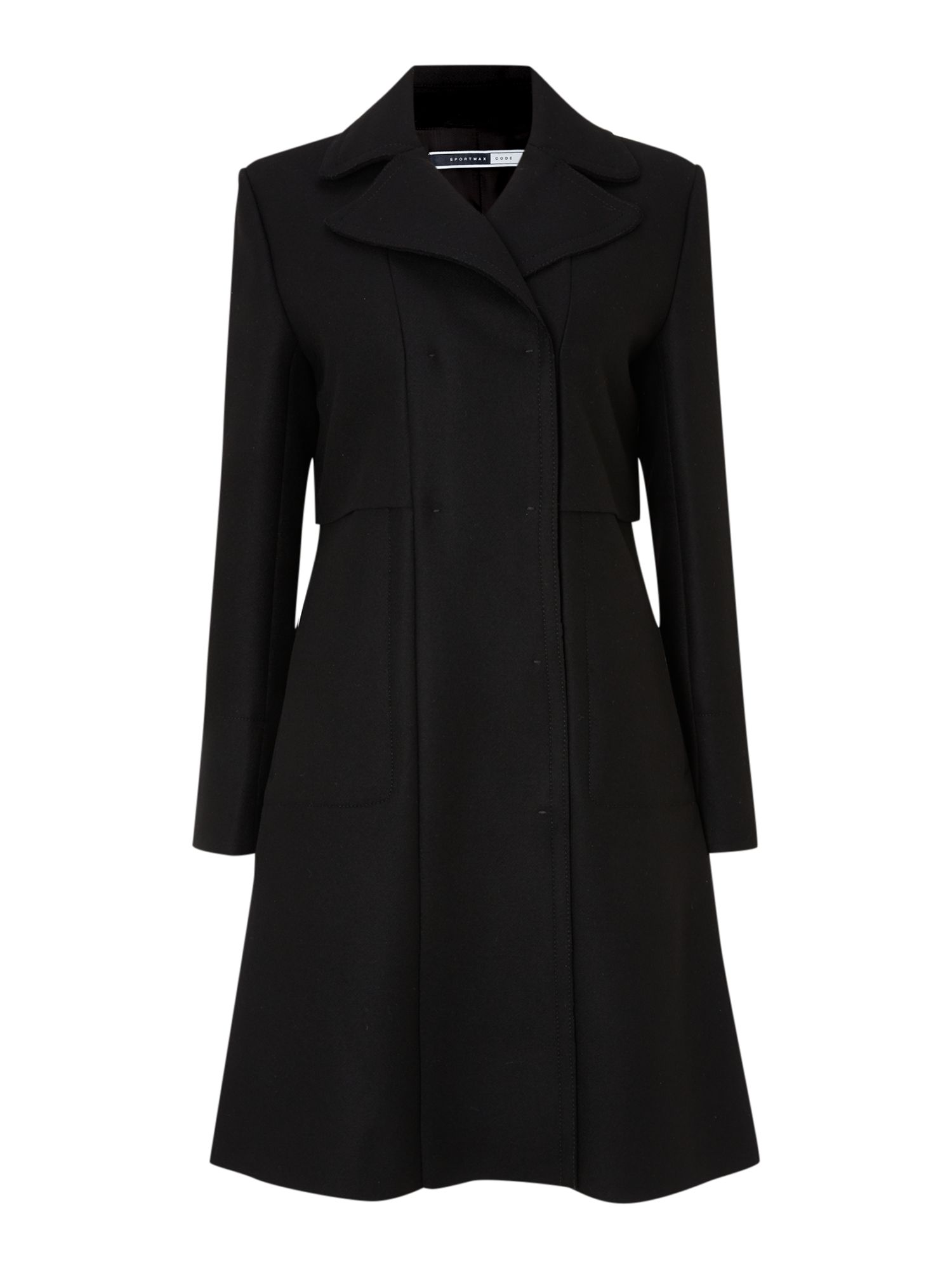 Hateley layered coat
