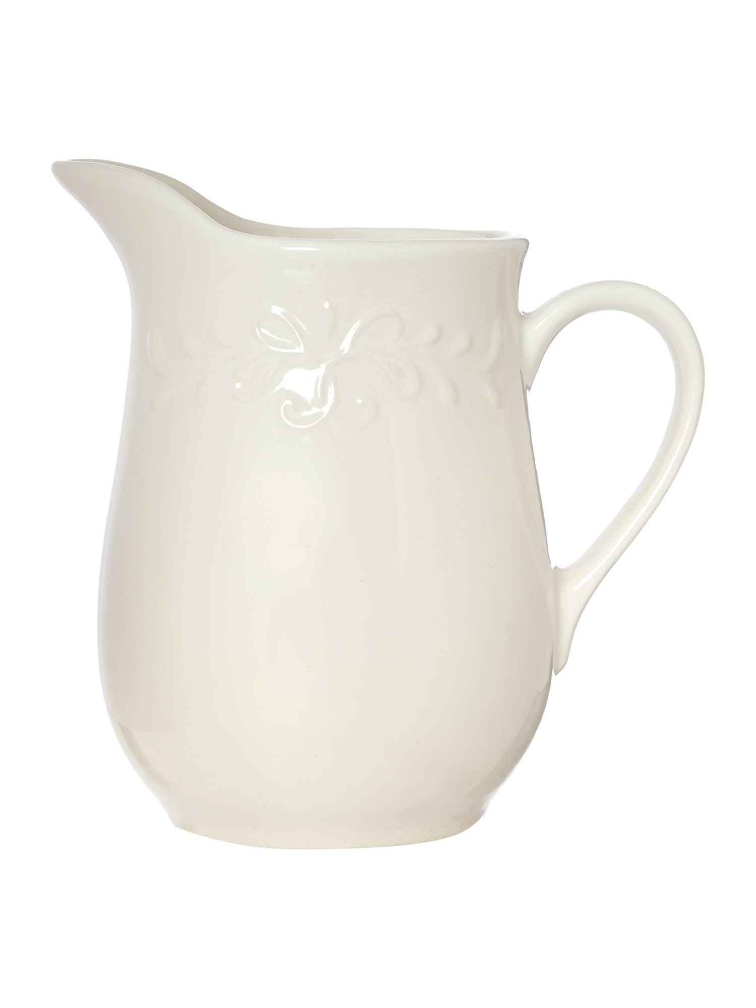 Ceramic flower jug, large