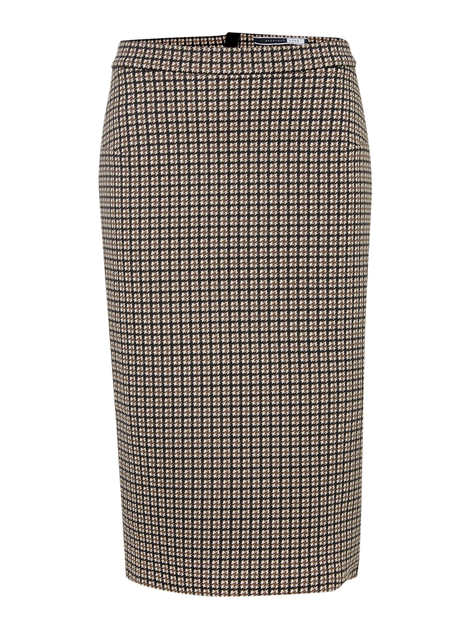 Elsa zip pencil skirt