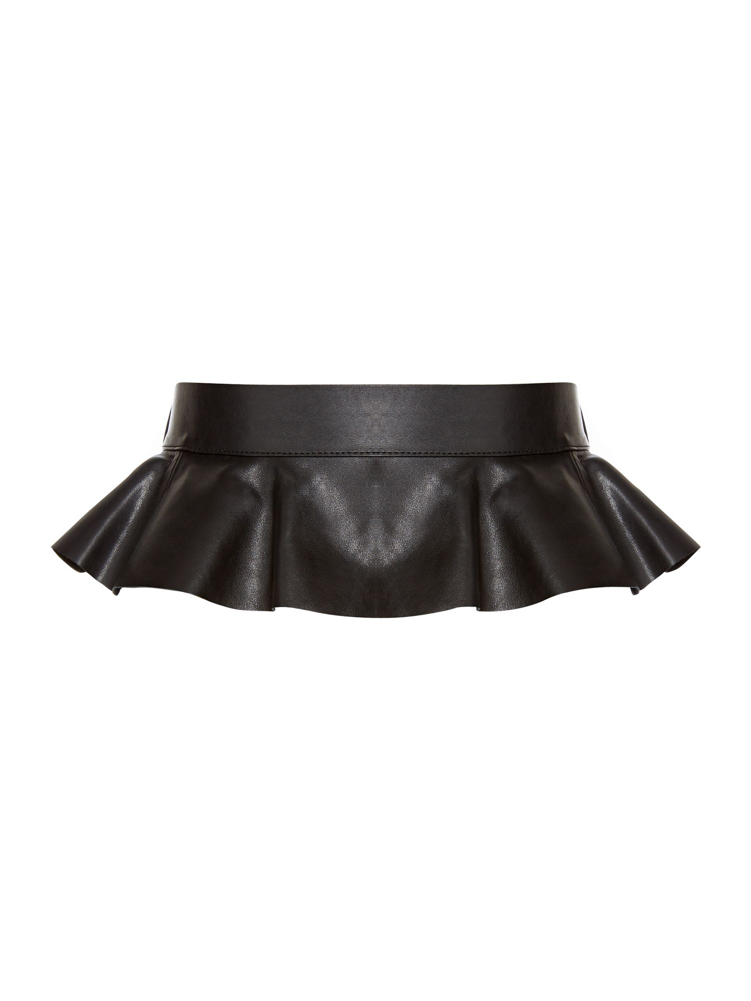 Peplum belt accessory