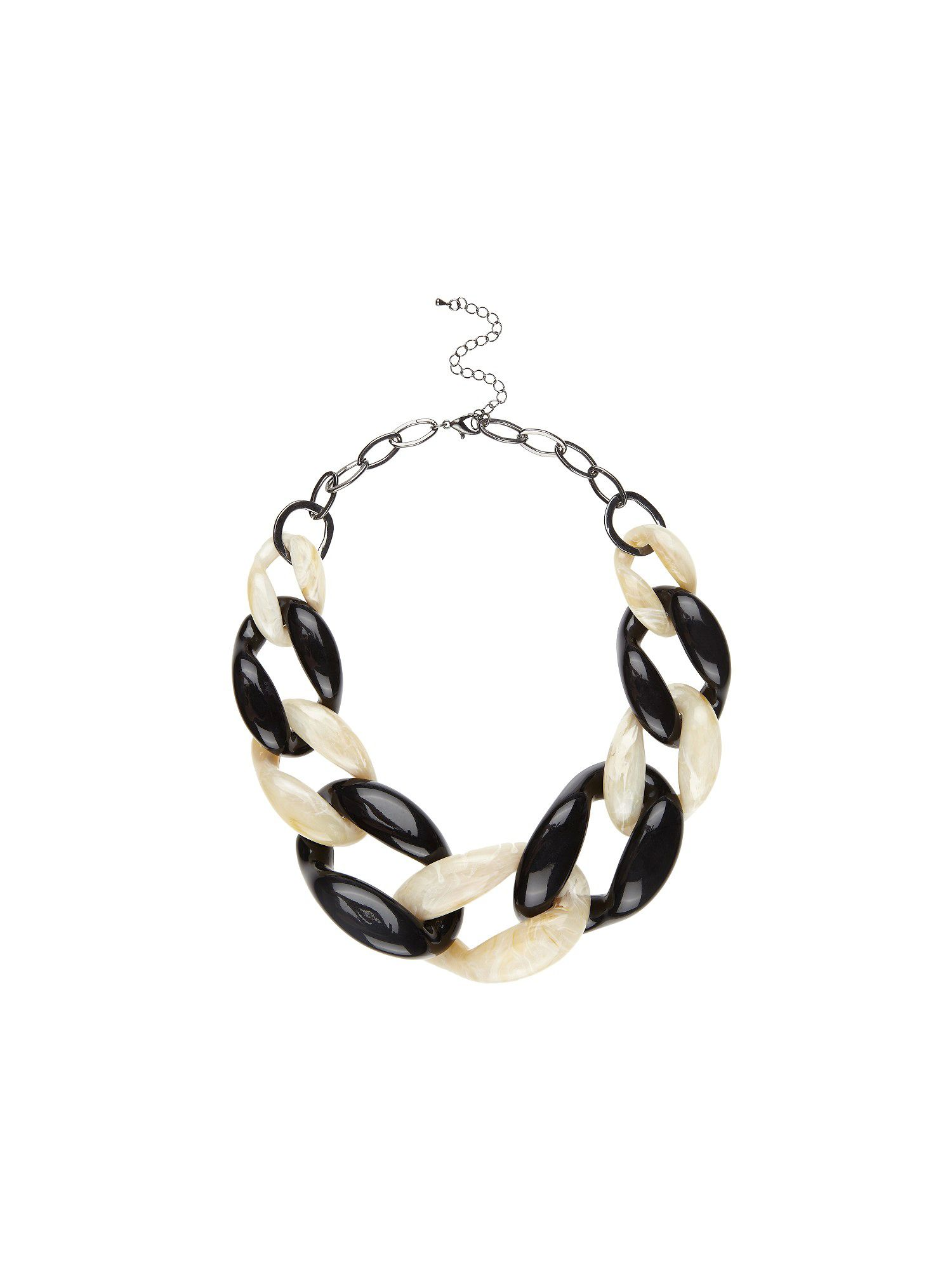 Perspex chain necklace
