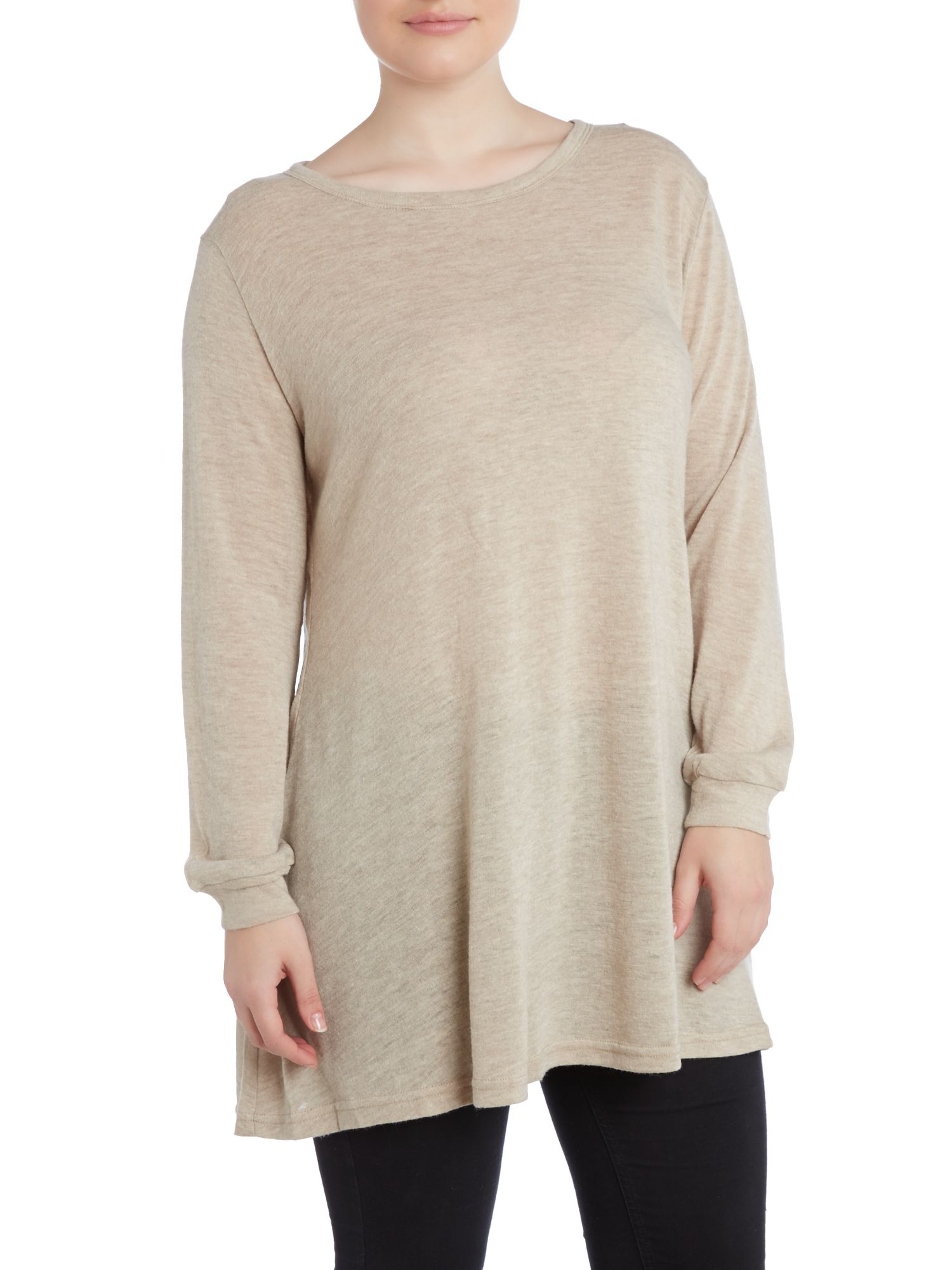 Bow mesh panel jumper