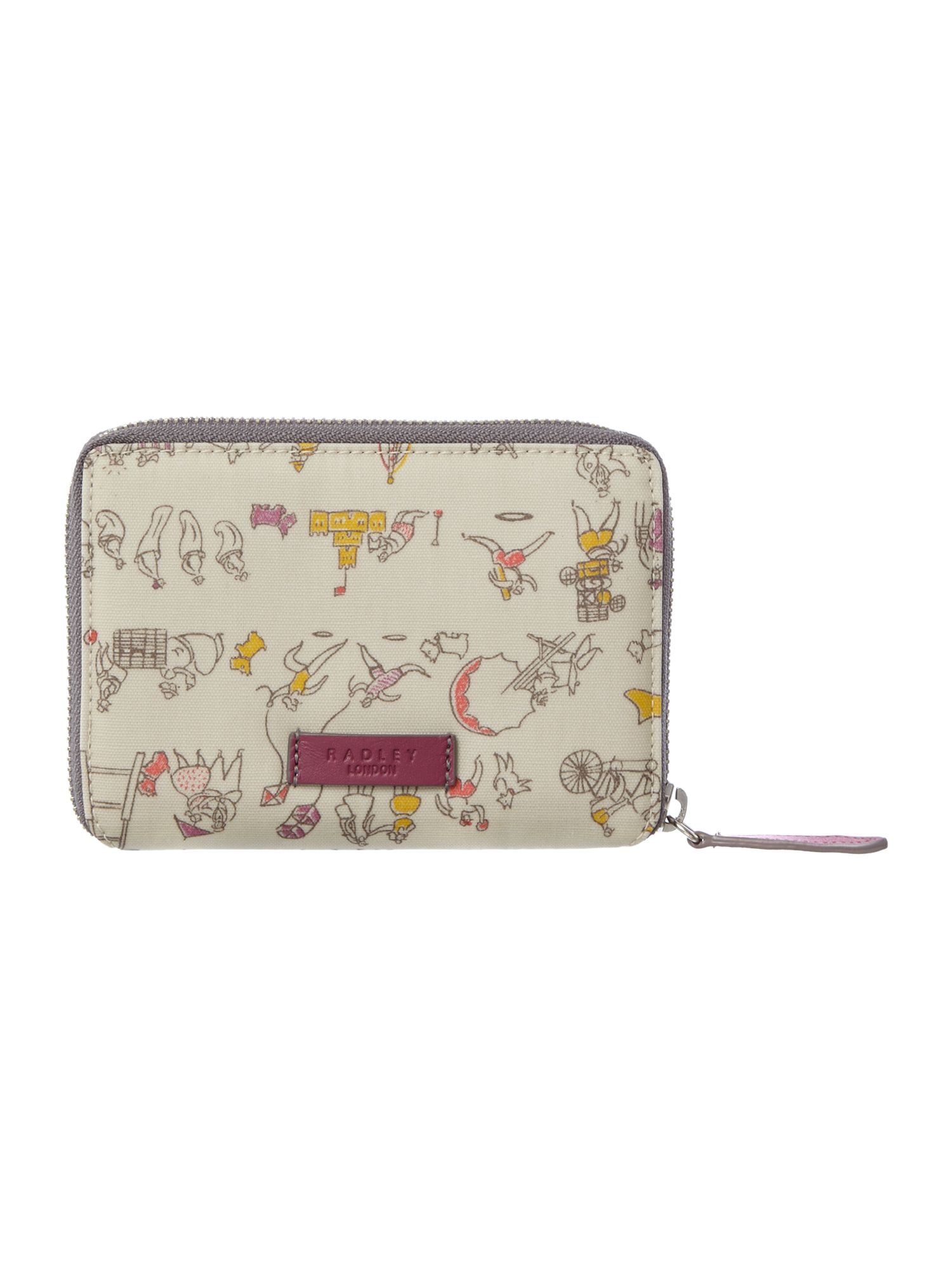 Multi medium zip around purse