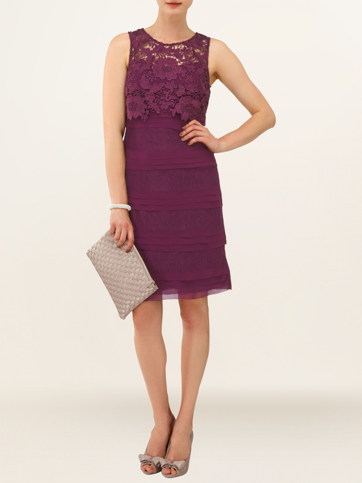 Carlotta layered dress