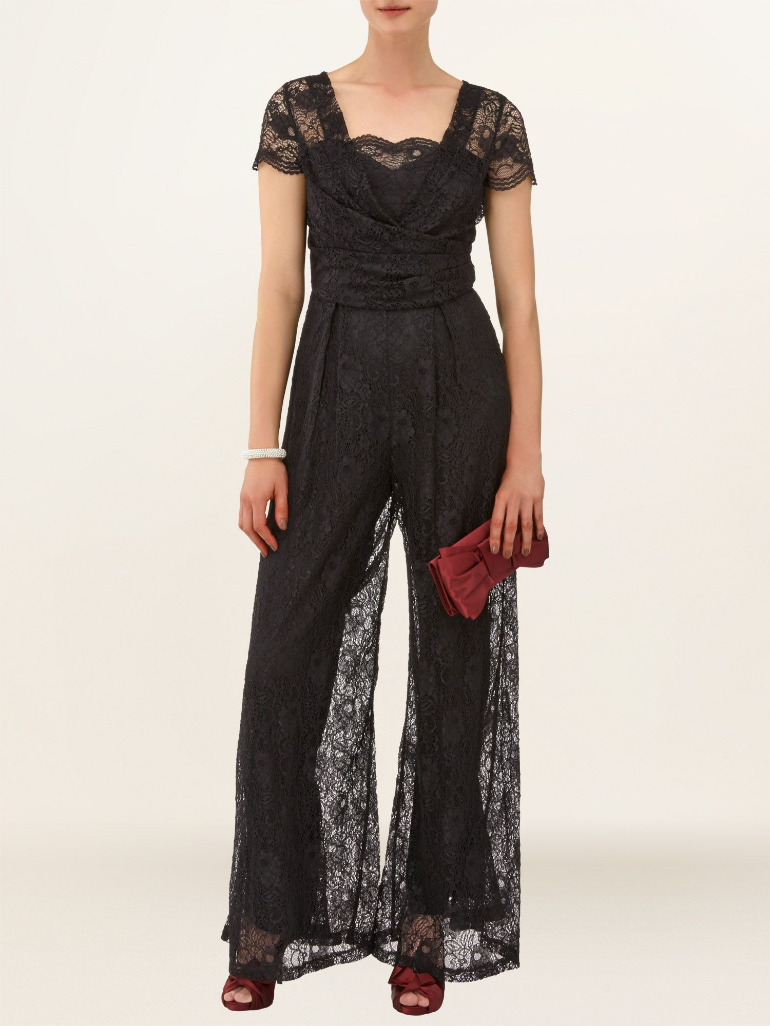 Lois lace jumpsuit