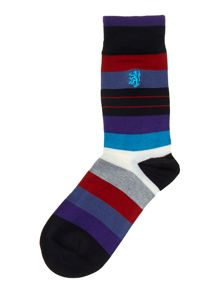 3 pack irregular stripe sock