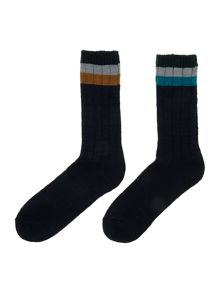 2 pack boot sock