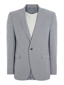 Candy stripe slim fit blazer