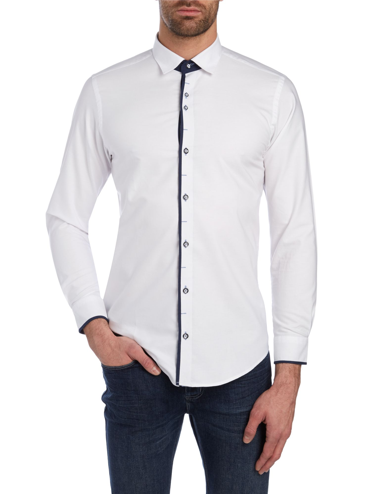 Matteo regular fit long sleeve shirt